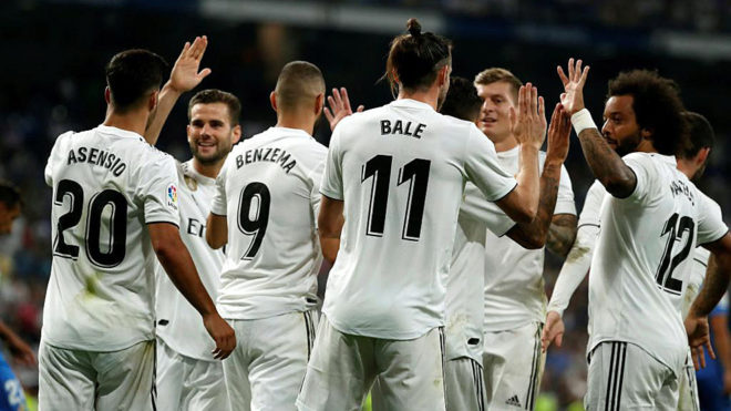 رئال مادرید- لالیگا- فصل 19-2018- لوس بلانکوس- سانتیاگو برنابئو