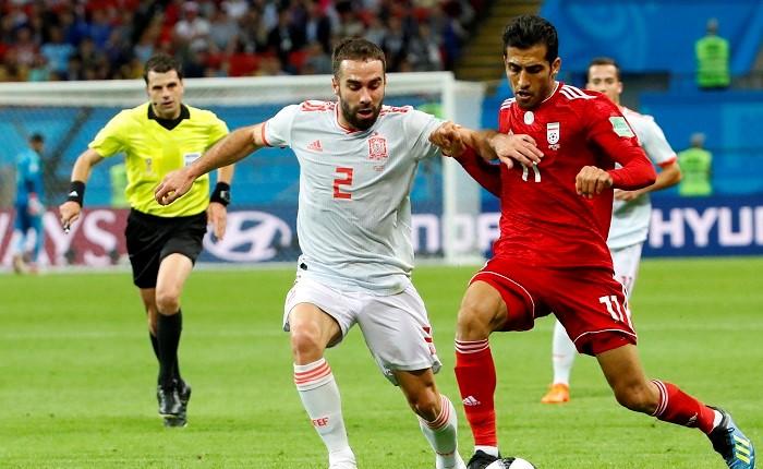 تیم ملی ایران - تیم ملی اسپانیا - جام جهانی روسیه