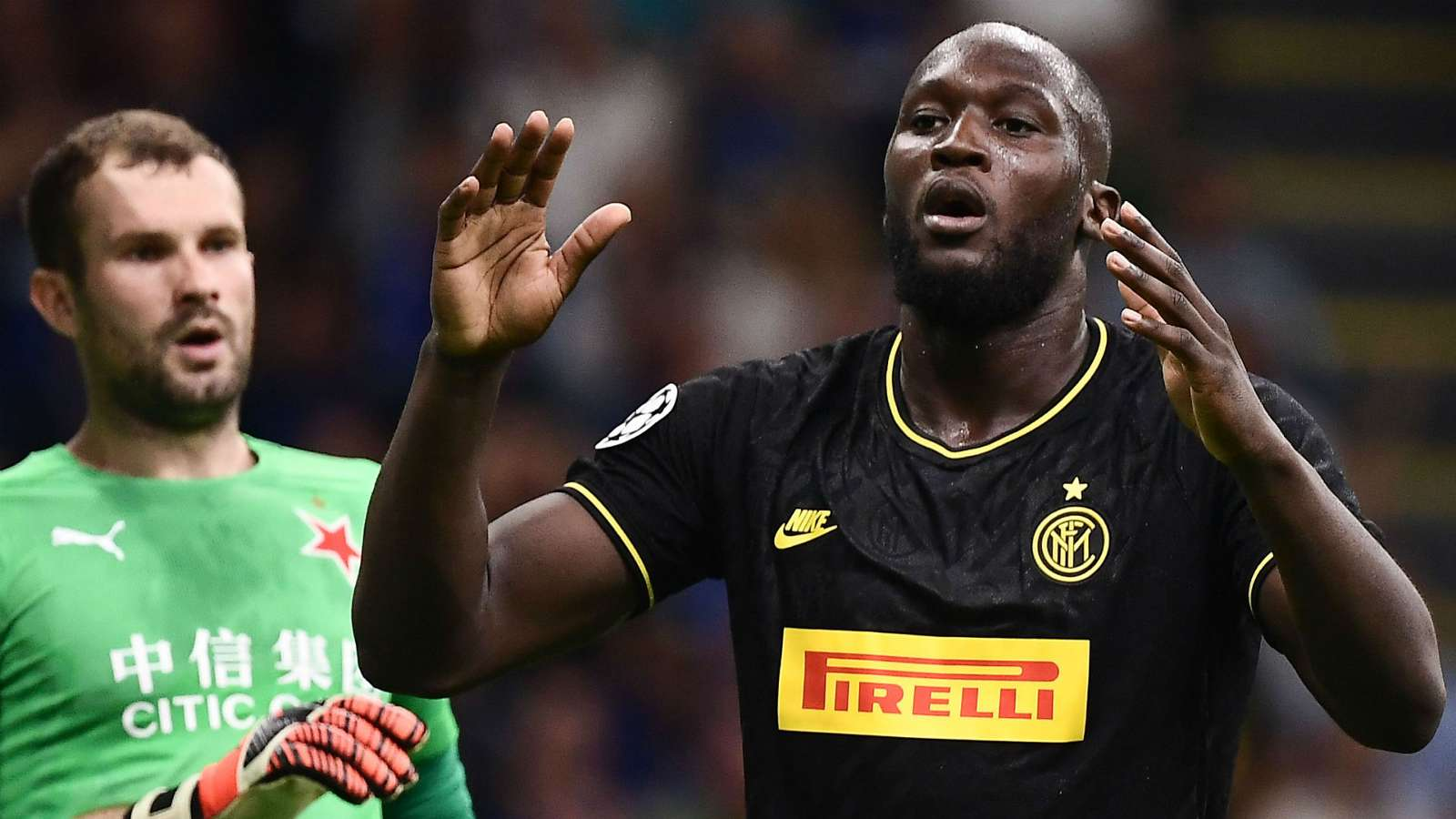 اینتر-سری آ-لیگ قهرمانان اروپا-اسلاویا پراگ-آنتونیو کونته-Inter