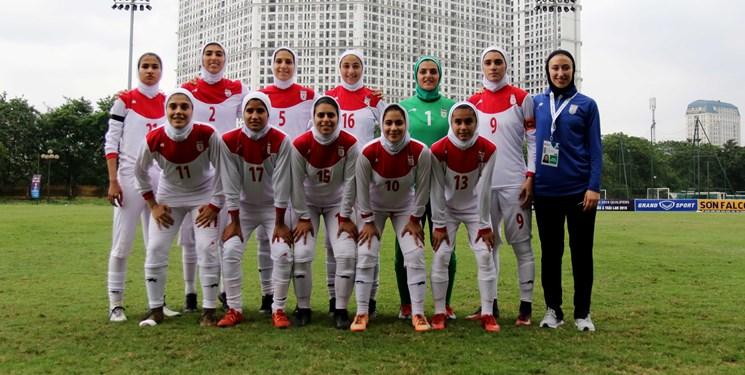 تیم ملی بانوان ایران-Iran women's national football team