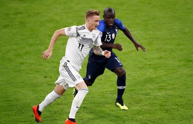 تیم ملی آلمان-جام جهانی روسیه-فرانسه-لیگ ملت های اروپا
