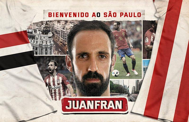 خوانفران- مدافع راست سابق اتلتیکو مادرید- اسپانیا- برزیل