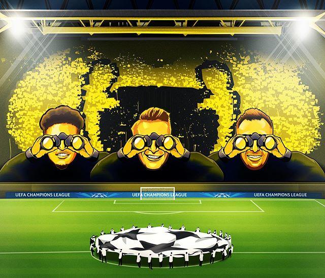 سیگنال-ایدونا-پارک-Signal Iduna Park-لیگ-قهرمانان-اروپا