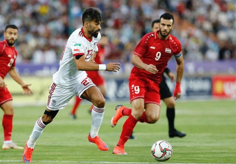 دیدار دوستانه-تیم ملی فوتبال ایران-تیم ملی فوتبال سوریه