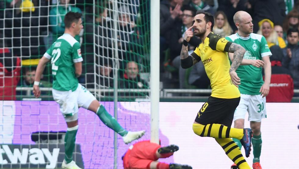 Dortmund-دورتموند-مهاجم-اسپانیا-بوندس لیگا-آلمان