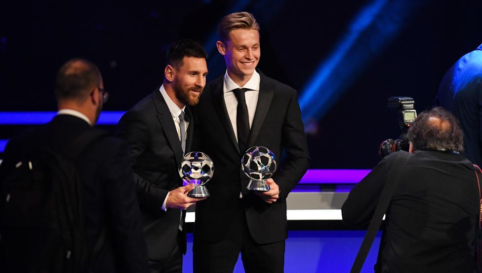 BARCELONA-بارسلونا-هافبک-هلند-بهترین-یوفا-اروپا-مهاجم-آرژانتین