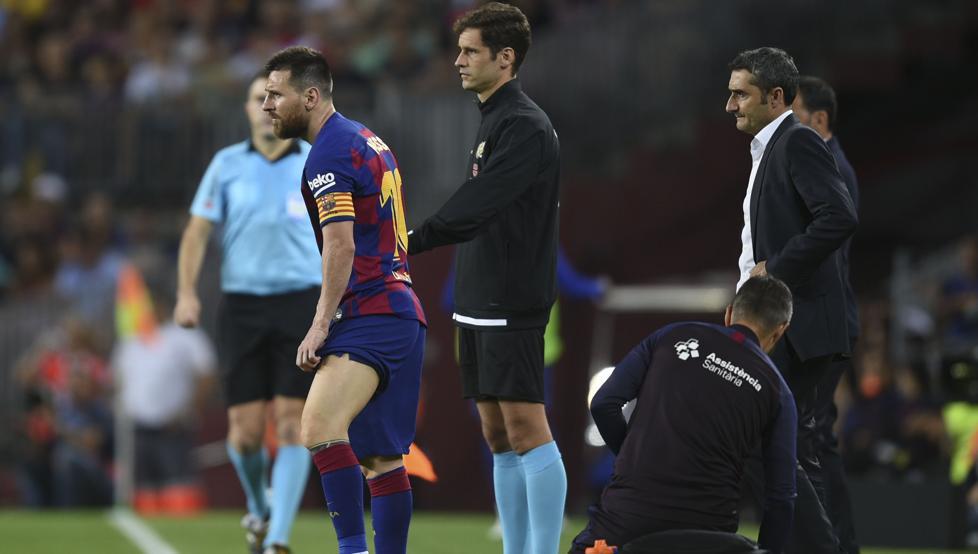 barcelona-بارسلونا-مهاجم-آرژانتین-مصدومیت-نیوکمپ