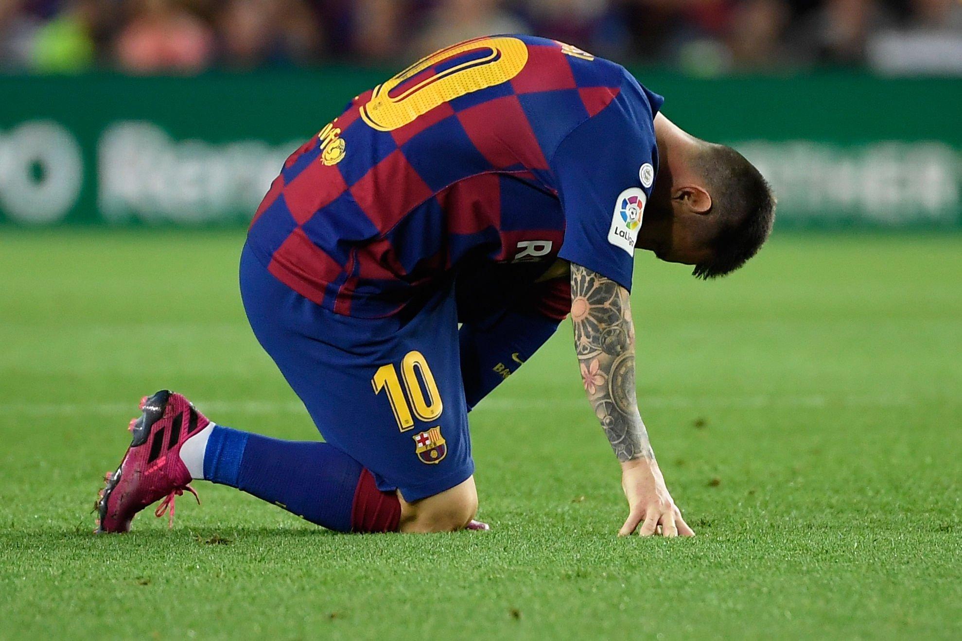barcelona-بارسلونا-مهاجم-آرژانتین-نیوکمپ-لالیگا-اسپانیا-مصدومیت مسی