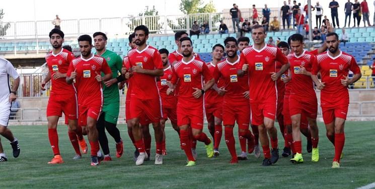 فوتبال-لیگ برتر-فدراسیون فوتبال-ایران-iran-تمرینات پرسپولیس