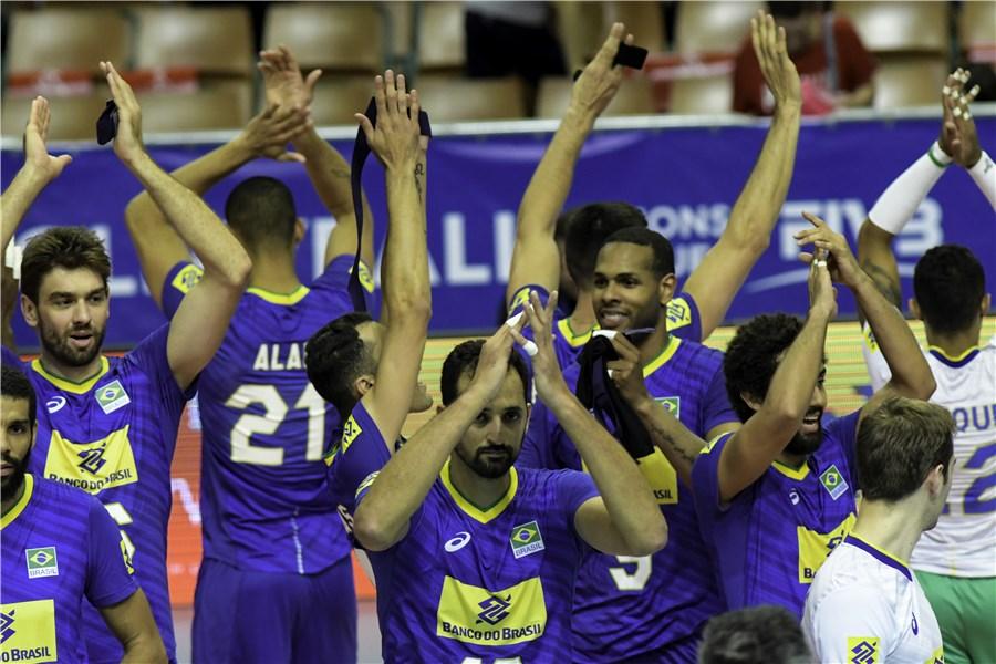 والیبال-فدراسیون والیبال برزیل-تیم ملی والیبال برزیل