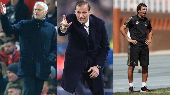 سرمربی رئال مادرید کاستیا-سرمربی سابق یوونتوس-سرمربی منچستریونایتد-Real Madrid