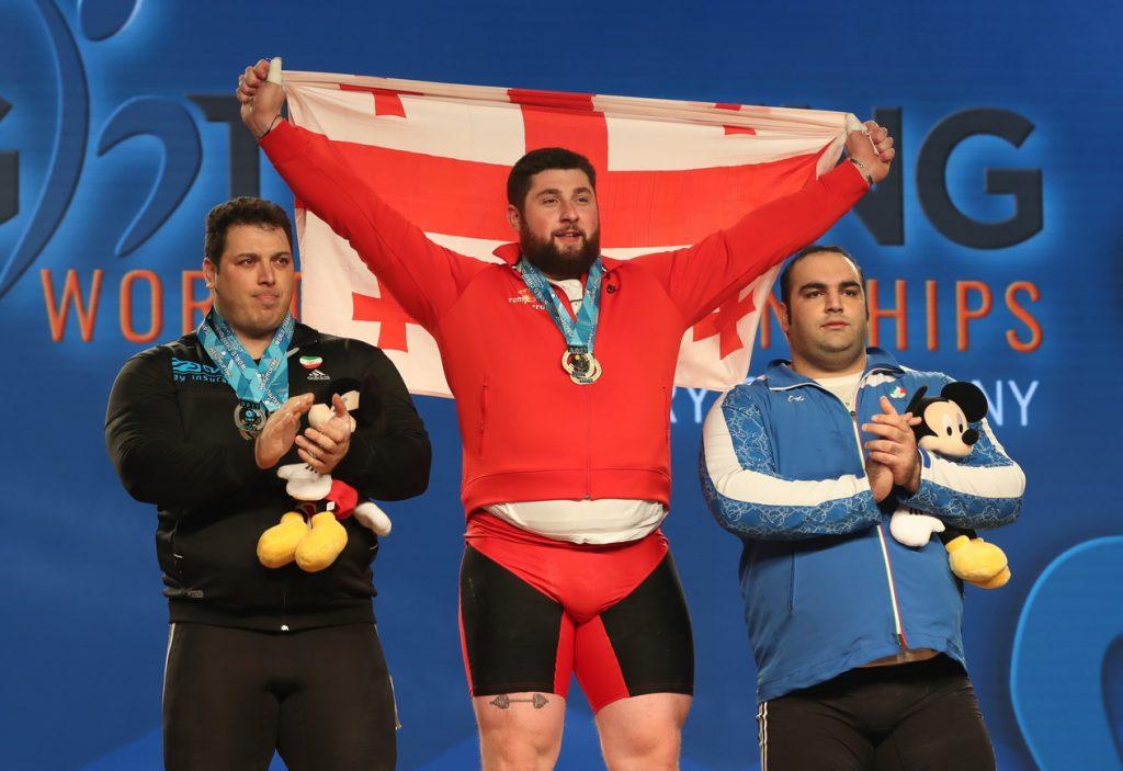 وزنه برداری-وزنه برداری قهرمانی جهان-ایران-گرجستان-weight lifting