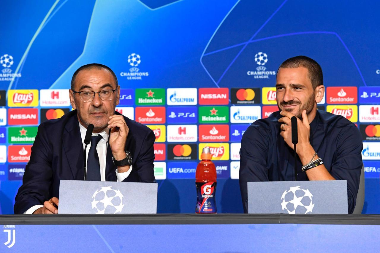 یوونتوس-سرمربی یوونتوس-کنفرانس خبری لیگ قهرمانان-Juventus
