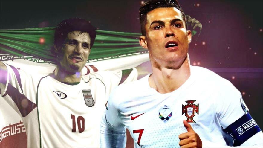 ایران-پرتغال-آقای گل جهان-Iran-Portugal
