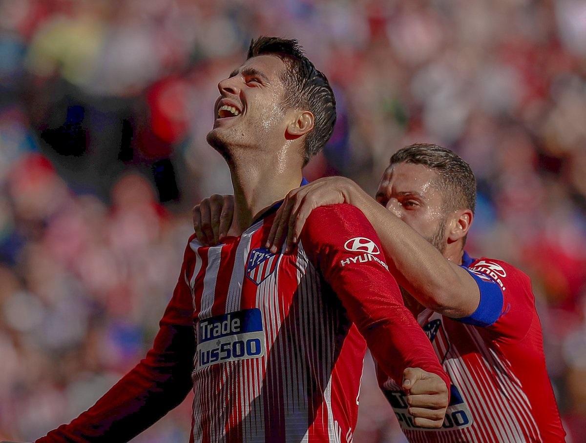 اتلتیکو مادرید-ویارئال-اسپانیا