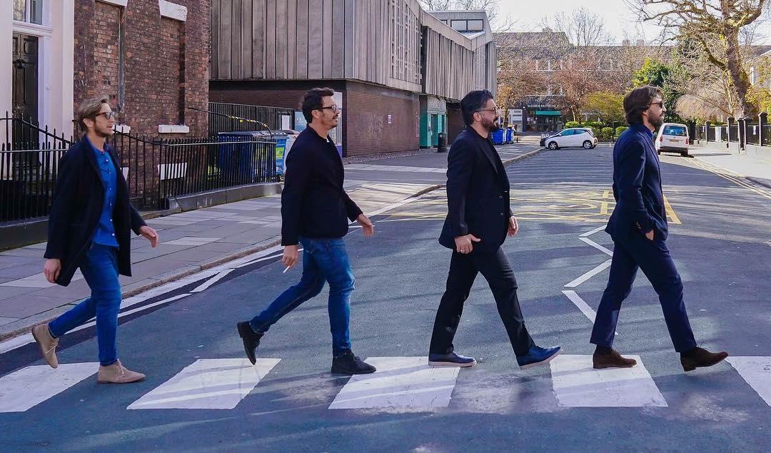 گروه بیتلز-ماسیمو اودو-آندره آ پیرلو-ماسیمو آمبروزینی-جنارو گتوزو-thebeatles