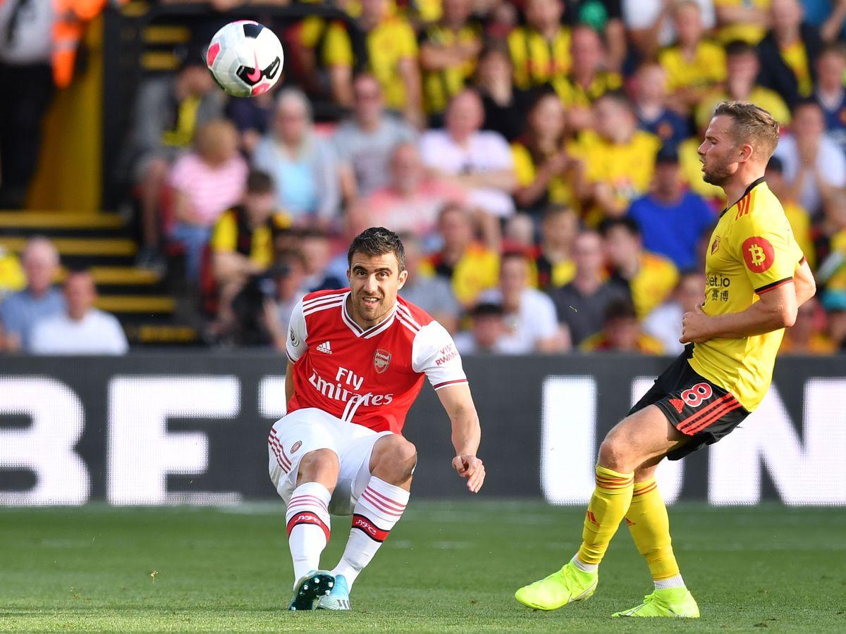 لیگ جزیره-انگلستان-آرسنال-واتفورد- عذرخواهی بازیکنان-england-premier league-Arsenal-watford-