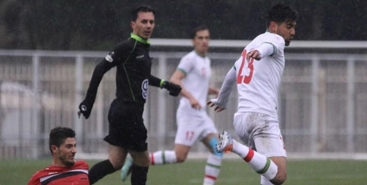 فوتبال ایران-تیم امید-بازی دوستانه امید ایران و امید سوریه