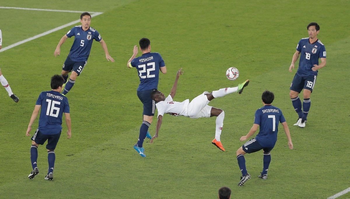 فوتبال جهان-جام ملت های آسیا-مهاجم تیم ملی قطر