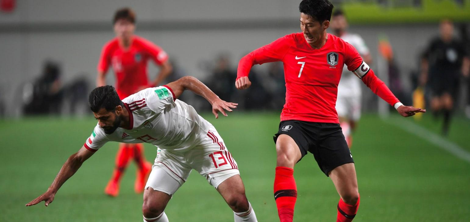 فوتبال ایران-دیدار دوستانه-بازی کره جنوبی و ایران