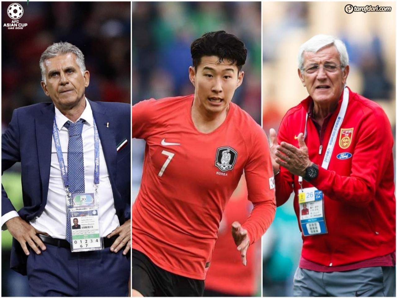 فوتبال جهان-جام ملت های آسیا-ستارگان برتر