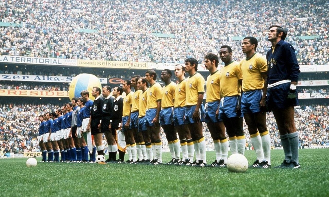 جام جهانی 1970 مکزیک-تیم برزیل-تیم ایتالیا-بازی فینال