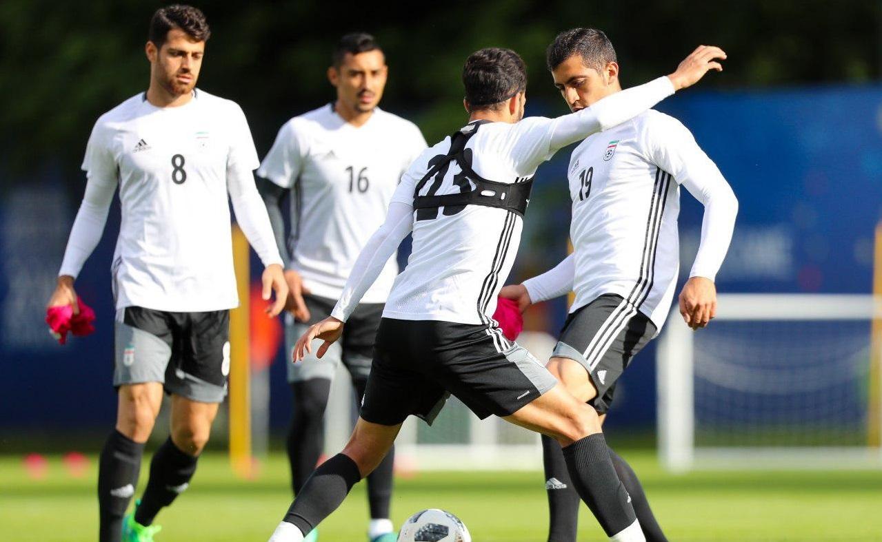 تیم ملی فوتبال ایران - جام جهانی 2018 - تمرین تیم ملی