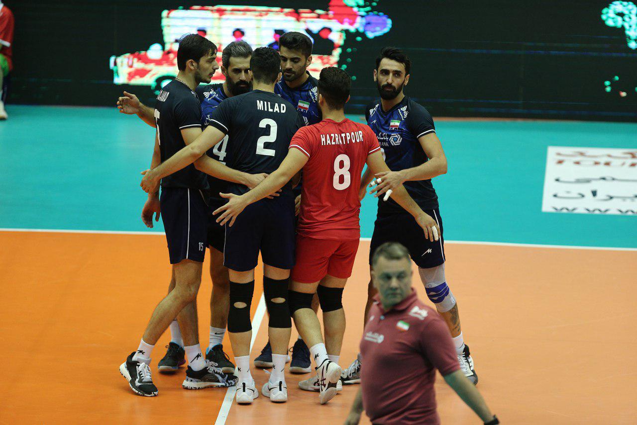 ورزش والیبال - اخبار والیبال - والیبال قهرمانی مردان آسیا - تیم ملی والیبال ایران - سعید معروف - محمد موسوی
