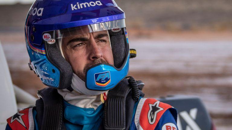 فرناندو آلونسو - مسابقات اتومبیلرانی - مسابقات رالی - رالی داکار