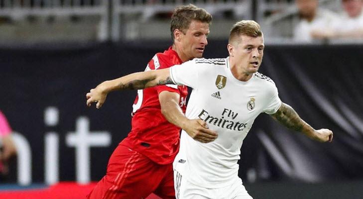 آلمان-بایرن مونیخ-اسپانیا-رئال مادرید-چمپیونز کاپ-Real Madrid