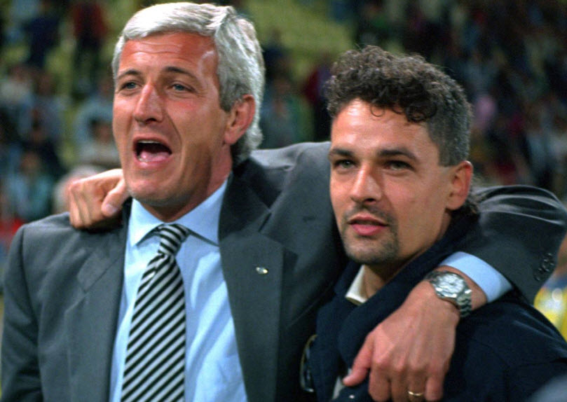 ایتالیا-سری آ-یوونتوس-اینتر-میلان-اسکودتو-تیم ملی ایتالیا-جام جهانی 1994-جام جهانی 1998-Inter