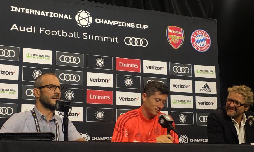بایرن مونیخ-آرسنال-آمریکا-چمپیونزکاپ-نقل و انتقالات بایرن مونیخ-Bayern Munich