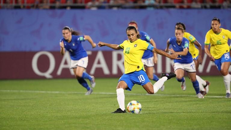 برزیل - جام جهانی بانوان - گلزنی مقابل ایتالیا