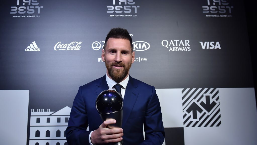 بارسلونا - آرژانتین - جایزه بهترین بازیکن مرد سال 2019 جهان