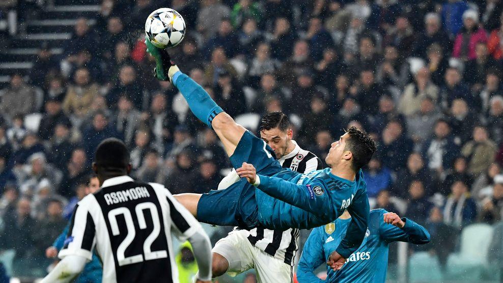 رئال مادرید - لیگ قهرمانان اروپا - گلزنی مقابل یوونتوس