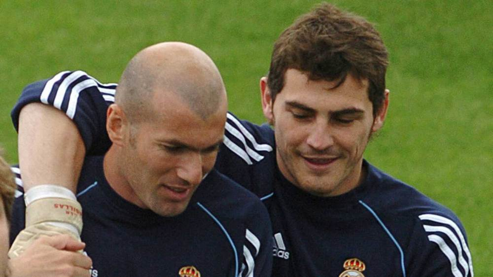 ایکر کاسیاس - رئال مادرید - پورتو - زین الدین زیدان - Iker Casillas - Real Madrid - Porto - Zidane