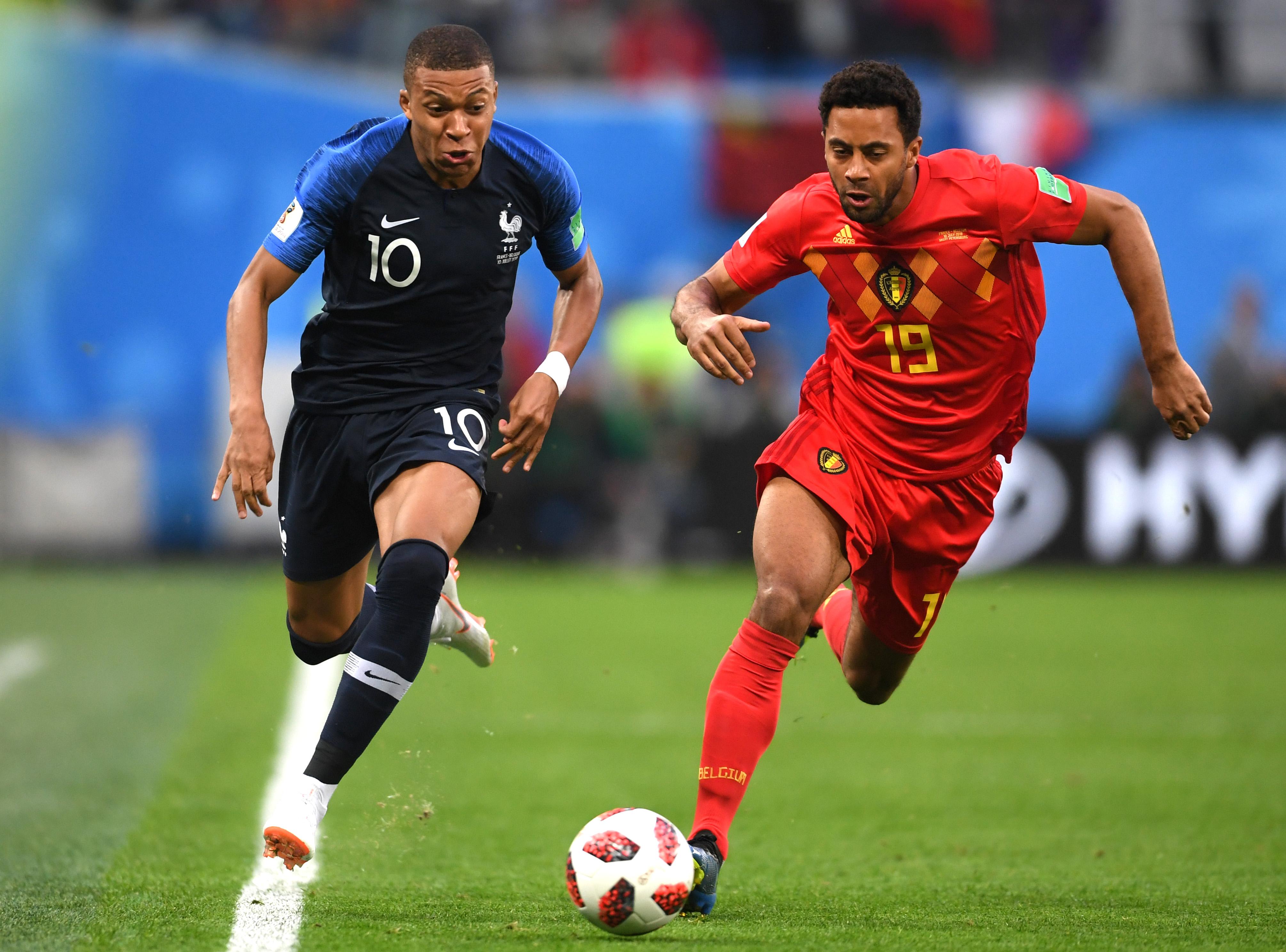 جام جهانی-فرانسه-بلژیک-نیمه نهایی