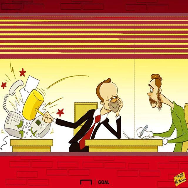 کاریکاتور عمر مومنی