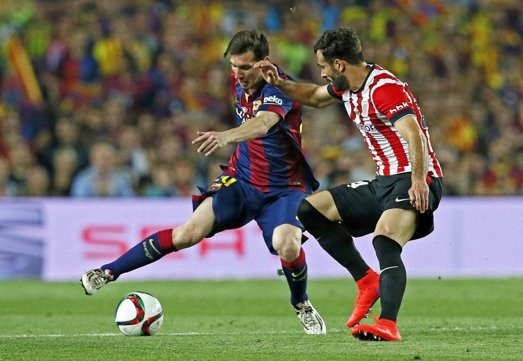 بالنزیاگا - لیونل مسی - اتلتیک بیلبائو - بارسلونا - فینال کوپا دل ری 2015