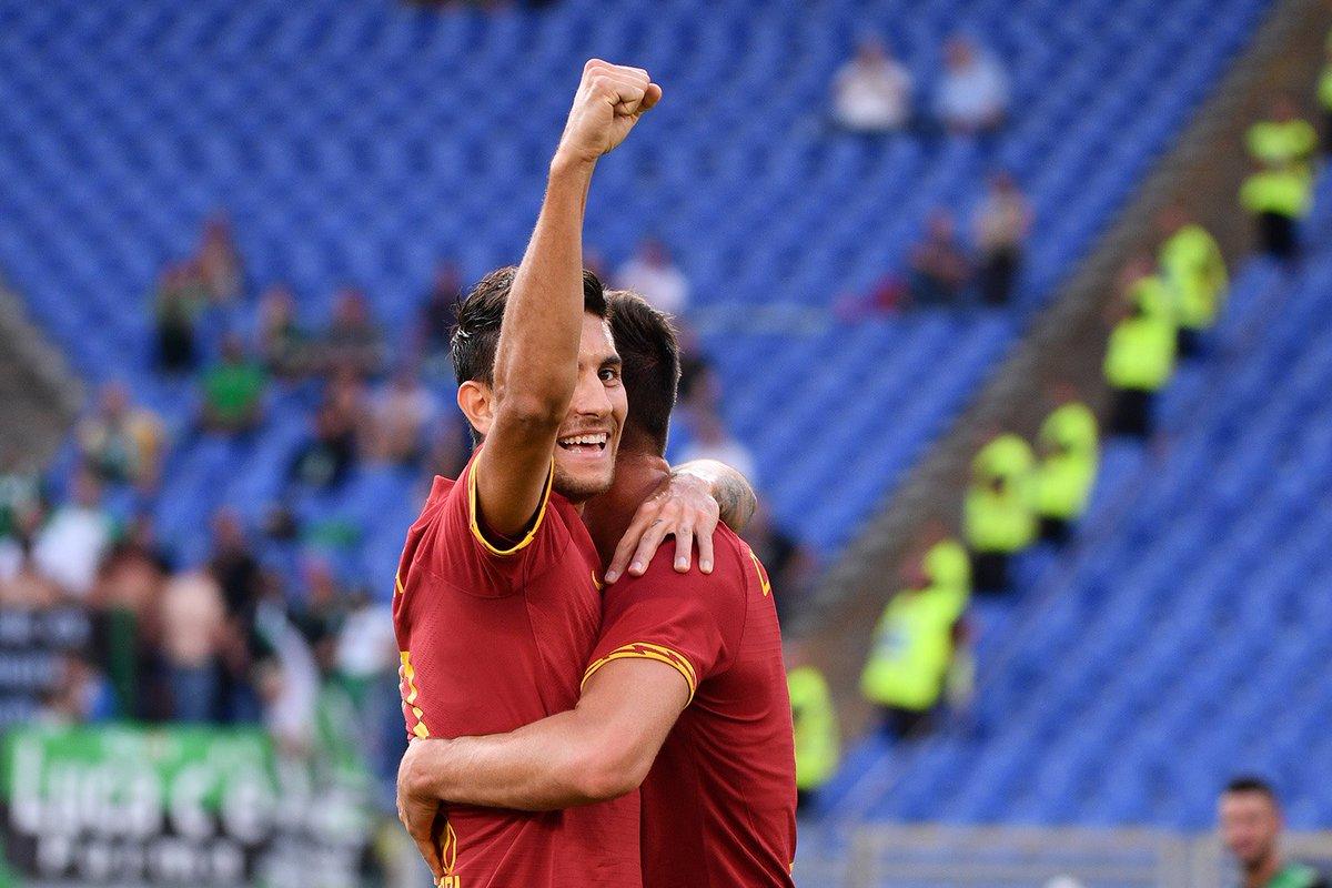 لورنتزو پلگرینی-رم-سری آ-ایتالیا-ساسولو-Serie A-ورزشگاه المپیکو-Sassoulo