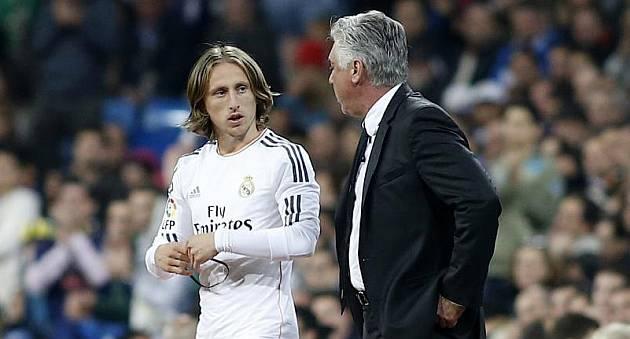 Luka Modric-Carlo Ancelotti-کارلو آنچلوتی-لوکا مودریچ