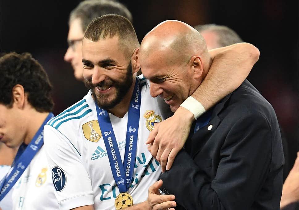 کریم بنزما-زین الدین زیدان-Karim Benzema-Zidane