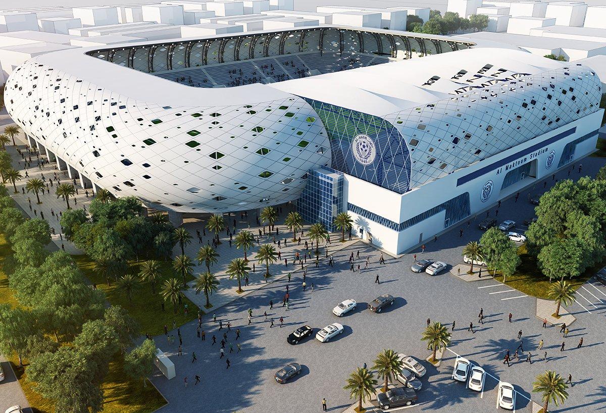 Al-Maktoum Stadium - ورزشگاه آل مکتوم