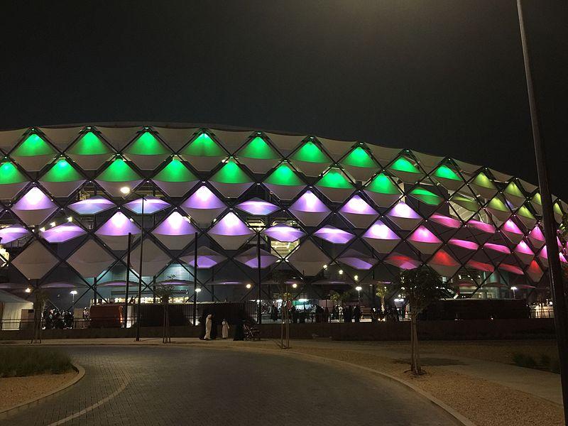 Hazza_Bin_Zayed_Stadium_night - ورزشگاه هازا بن زاید
