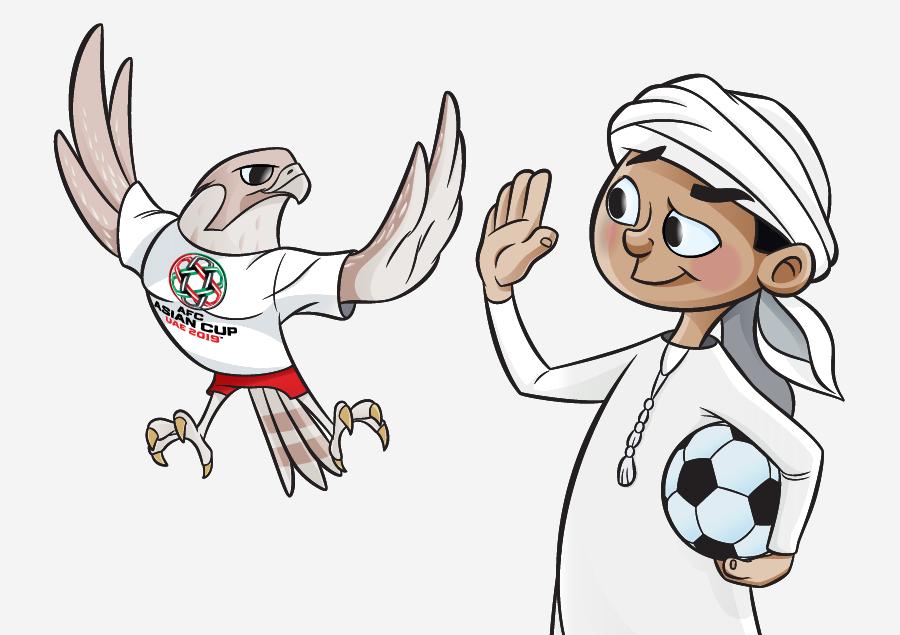 مسکات جام ملت های آسیا 2019 - Asian Cup 2019 Mascots
