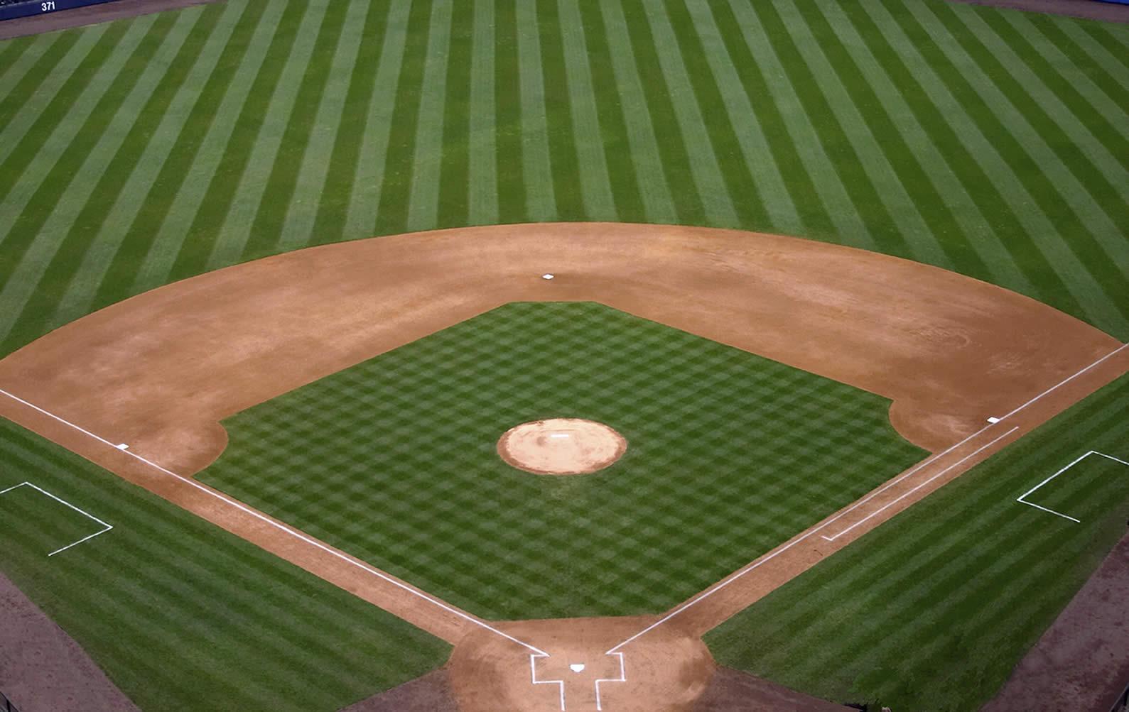 زمین بیسبال - آموزش قوانین بیسبال