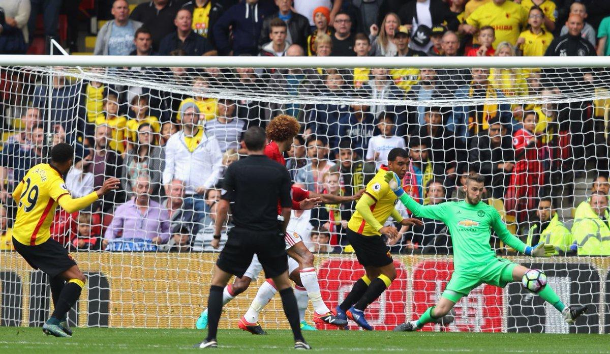 اتین کاپو اولین گل واتفورد را بهثمر رساند.